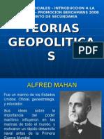 TEORIAS GEOPOLITICAS
