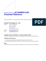 49452122 BSC6900 GSM V900R011C00SPC720 Parameter Reference