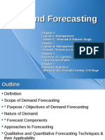2011 Lscm Lesson6 Demand Forecasting