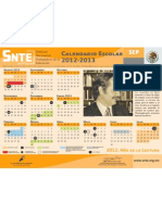 Calendario Esc 12-13