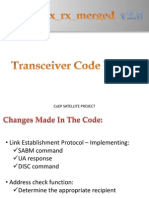 Transceiver Code TX Rx Merged v2.0