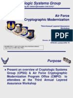 US Air Force Crypto Mod 2009 (Unclassified)