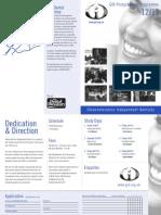 GID Course Programme 2012-13