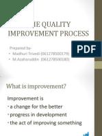 The Quality Improvement Process