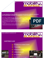 Bilan Mobility for Business 2011