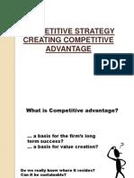 Strategic Competitive Advantage