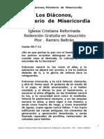 Los Diaconos Un Ministero de Misericordia