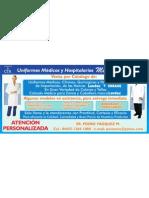Anuncio Medical Fashion Uniformes Medicos y Hospitalarios