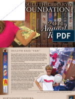 Duluth Library Foundation Annual Report 2011
