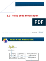 104615_Pulse Code Modulation(Sampling,Quantizing,Encoding)