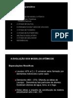Aula 2- ESTRUTURA DO ÁTOMO