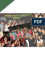 ARRIBES  Fiestas de Aldeadávila 2012!!!!!!!