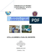 Modulo Medicina II Guia Del Docente-1era Rotacion 2012