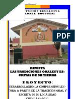 REVISTA DEL PROYECTO DE INNOVACIÓN1
