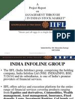 Risk Management Through Derivative in Indian Stock Market