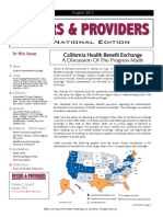 Payers & Providers National Edition – Issue of August 2012