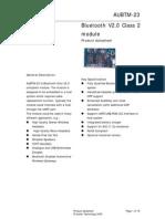 AUBTM-23 datasheet