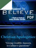 Why Do Apologetics