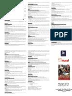 Programa de ponencias RAE 2012 - La Paz