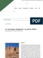 La Montagna Sfuggente Di Zecharia Sitchin