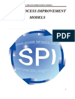 Sdlc Process Assessment and Improvement Models