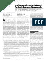 ADA EASD Consensus 2012