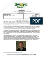 Scott Swope for Sheriff - Gun Safety Event