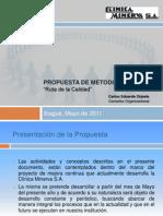 Propuesta Ruta de La Calidad - Clinica Minerva