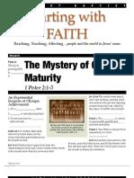 Faith 6 1 Pet 2_1-5 Handout 082612