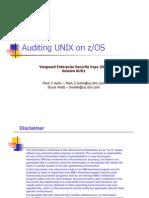 Racf - Auditing Unix on Zos