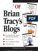 Best of Brian Tracy's Blog