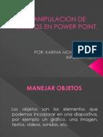 Manipulacion de Objetos en Power Point
