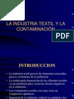 La Industria Textil y Contaminacion - Copia