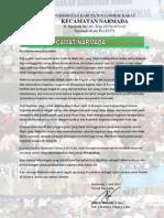Proposal PHBI Kec. Narmada, LOBAR 2012