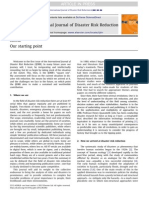 Journal Disaster Risk Reduction
