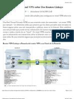 Configurando un Túnel VPN sobre Dos Routers Linksys
