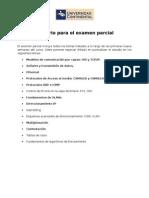 Temario Examen Parcial