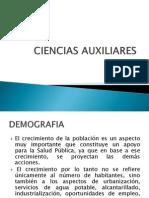 Ciencias Auxiliares Salud Publica