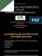 ARQUITECTURA SEXO ESPECìFICA DE LAS ENFERMEDADES HUMANAS final