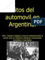 Autos Argentinos vanzinisport