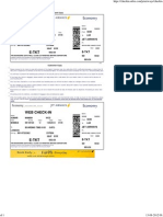 Jet Airways Web Check-In - Boarding Pass