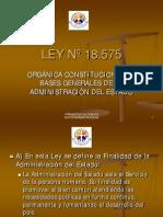 Ley 18575 Resumen