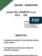Stirling Engine - HP-Final Ppt