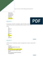 Project management chapter10 quiz
