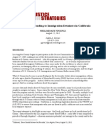 The Cost of Responding to Immigration Detainers in California