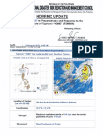 Ndrrmc Update Sitrep No 7 Igme, 24 August 2012