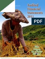 IRRI AR 2011 - Audited Financial Statements
