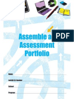 assemble an assessment por