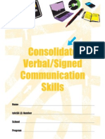 consolidate communication