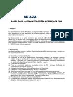 Bases Para La Beca Deportista Gerdau AZA 2012